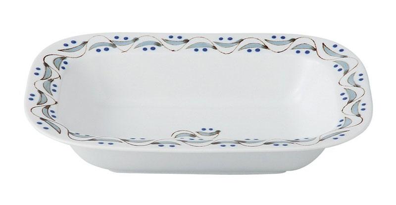 楕円皿 大皿 パスタ皿 波佐見焼 グレイッシュベリー オーバルプレート