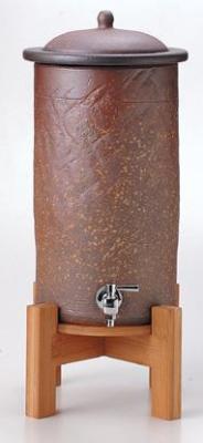 セラミック 浄水器 信楽焼 セピア 百年のしずく(3L) K92-60388