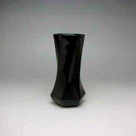 花瓶 フラワーベース 黒 ブラック モダン花瓶 一輪挿し 花器 フラワーベース(黒)14cm