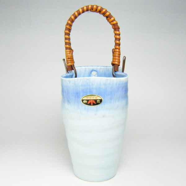 花器 花入 フラワーベース 竹泉 つる手付掛花兼用型 花瓶 トルコ