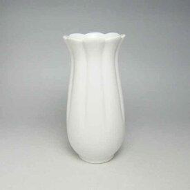 花瓶 フラワーベース 白 ホワイト モダン白 陶器 花瓶 花器 フラワーベース(白)18cm | おしゃれ 白磁 陶磁器 焼き物 花入 道具 慶事・仏事用品 法事 お供え花 供花 供え花 おすすめ 磁器 陶製 お花 フラワー ベース