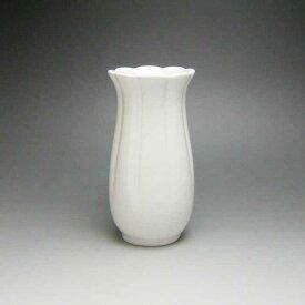 花瓶 白 陶器 一輪挿し 花器 フラワーベース (白)14cm | かびん おしゃれ インテリア 花びん 母の日 プレゼント 遅れてごめんね 白磁 慶事 仏事 法事 和室 床の間 インテリア 磁器 フラワー ベース ホワイト 焼き物