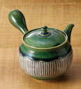 急須 常滑焼 淳蔵作 織部十草 急須 260cc ささめ L67 | きゅうす おしゃれ 日本製 焼き物 伝統工芸 工芸品 作家 陶器 陶磁器 日本六古…