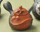 急須 常滑焼 素三作 昇り龍彫 陶製茶こし 220cc