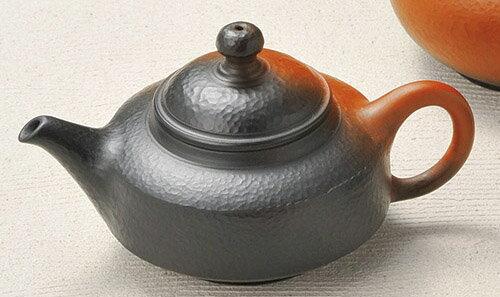 急須 常滑焼 益規作 窯変後手 陶製茶こし 130cc
