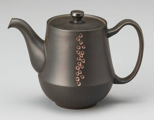 コーヒーサーバー 常滑焼 石龍作 珈茶ポット マイクロメッシュ 380cc M-409  きゅうす おしゃれ 日本製 コーヒーポット ティーポット 作家 陶器 日本六古窯 愛知県 食器 和食器 茶器 プレゼント