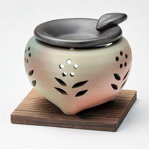 茶香炉 常滑焼 M-1607| ちゃこうろ おしゃれ 陶器 おすすめ インセンス インセンスホルダー インテリア 置物 ギフト 敬老の日 父の日 母の日 贈り物 贈答品 陶製 陶磁器 仏具 記念品 香炉 香道