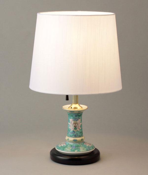 テーブルランプ 卓上ランプ 有田焼 青濃唐草 ランプスタンド Y406-C
