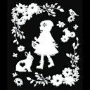 【ゆうパケット送料無料!※宅配便を選択時は送料がかかります。(ご注文後にこちらで追加します。)】 【蒔絵シール 転写シール】 Fairy tale 赤ずきん(ホ...