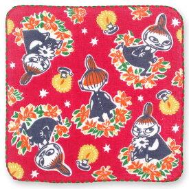 【タオルハンカチ】ムーミンハンカチーフ リトルミイ&リース【ゆうパケット送料無料!※宅配便を選択時は送料がかかります。(ご注文後にこちらで追加します。)】【 日本製 ハンカチ レディース ハンドタオル ガーゼ MOOMIN グッズ クリスマス 北欧 赤 雑貨 かわいい 】