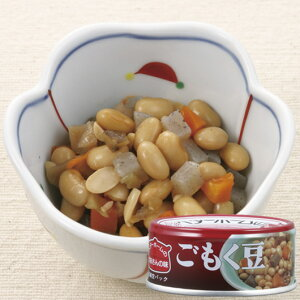 ベターホームかあさんの味お惣菜缶詰ごもく豆 1缶 イージーオープン