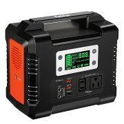 ポータブル電源大容量81000mAh/300WhAC(330W瞬間最大380W)DC(168W)家庭用蓄電池タッチボタン設計