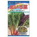 トーホク カラフルふだん草 虹いろ菜 種 (家庭菜園たね 種子 プランター栽培 スイスチャードのタネ)
