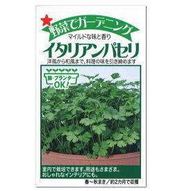 トーホク ハーブ イタリアンパセリ 種 多年草(家庭菜園・料理用 ハーブ イタリアンパセリのタネ たね 種子・HERB)