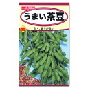 トーホク うまい茶豆 種 枝豆 (えだまめ・家庭菜園・プランター栽培・エダマメのタネ たね 種子 夏野菜)