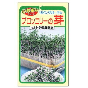トーホク ブロッコリーの芽 話題の健康野菜 種 7日〜10日で収穫できます!(家庭菜園 ブロッコリースプラウト タネ たね 種子 健康野菜 SGS スルフォラファン 自由研究)