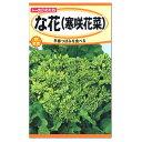 【秋まき】トーホク な花(寒咲花菜) 種 (家庭菜園・プランター栽培・菜花 たね なばな タネ)