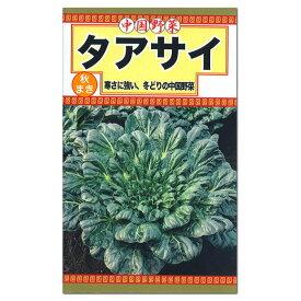トーホク タアサイ 種(家庭菜園 黒白菜 ターサイ タァツァイ 搨菜 タネ 種子)