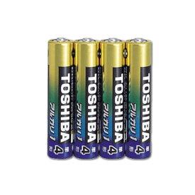 東芝 アルカリ乾電池 単4形×4本パック メール便可:7個迄 コンビニ受取可 (防災備蓄の倉庫番 災害対策本舗)
