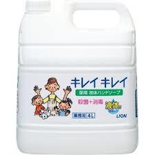 ライオン 業務用 キレイキレイ薬用ハンドソープ 液体タイプ 4L×3本