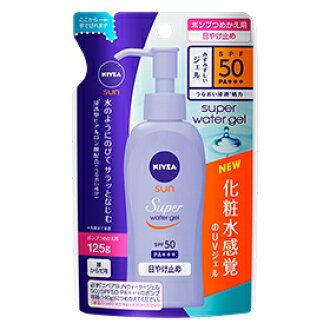 Nivea Sun protect water gel SPF50 then refill the 125 g