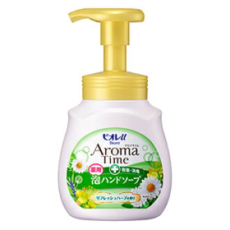 Biore u aroma time foaming hand SOAP refreshing herbs pump 230 ml