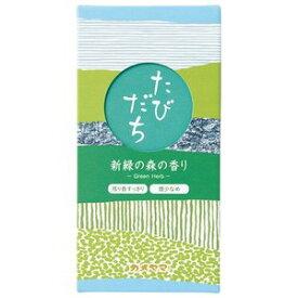 カメヤマ お線香 たびだち 新緑の森の香り(90g)*