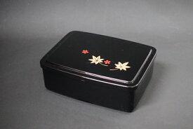うな重 黒 春秋 1段セット 【丑の日 弁当 うなぎ うな丼 テイクアウト 持ち帰り 容器】【日本製】【Made in Japan, Special price, Lacquered box, Lunch box, Celebration, Party, Picnic】*Domestic shipping only*