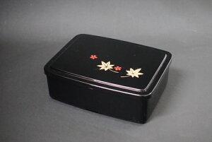 うな重 黒 春秋 1段セット 【丑の日 弁当 うなぎ うな丼 テイクアウト 持ち帰り 容器】【日本製】【Made in Japan, Special price, Lacquered box, Lunch box, Celebration, Party, Picnic】*Domestic shippin