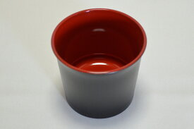 2.5寸 竹目つゆ入れ 黒天朱 (薬味皿は別売りです)【ざるそば ざるうどん つゆ入れ】【日本製】【Made in Japan, Special price, Lacquered soup bowl for Soba(noodle)】*Domestic shipping only*