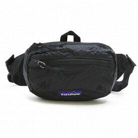 PATAGONIA ウエストバッグ[パタゴニア ヒップパック](PATAGONIA BAG パタゴニア カバン)ボディバッグ ユニセックス LW Travel Mini Hip Pack ライトウェイト トラベルミニヒップパック ブラック 49446