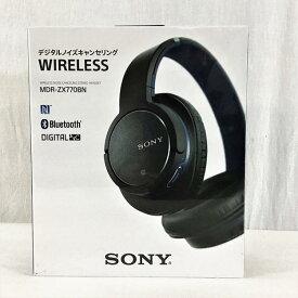 【新品・未開封】 ソニー / SONY MDR-ZX770BN/LM ワイヤレスノイズキャンセリングステレオヘッドセット ブルー 10007459