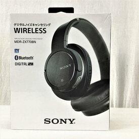【新品・未開封】 ソニー / SONY MDR-ZX770BN/BM ワイヤレスノイズキャンセリングステレオヘッドセット ブラック 10007464