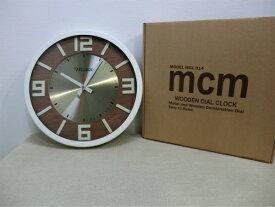 Metro(メトロ)/MCM壁掛けアナログ時計 ウォールクロックアイボリー