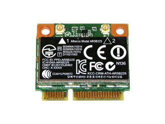 HP + generic Atheros AR5B225 WB225 wireless LAN card SPS #: 655795-001