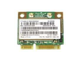 Lenovo純正 04W3763/04W3764 Broadcom BCM943228HMB 802.11a/b/g/n 300Mbps WLAN + Bluetooth 4.0 無線LANカード for Thinkpad Edge E130,E135,T430u,X131e Edge E430,E435,E530,E535