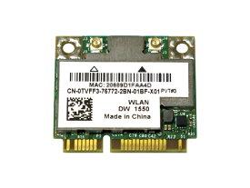 Dell Wireless 1550 (DW1550) WLAN/BT 内蔵ワイヤレスLAN Half-Miniカード (867Mbps 2T2R 802.11abgn/ac対応) BCM94352HMB/BCM4352