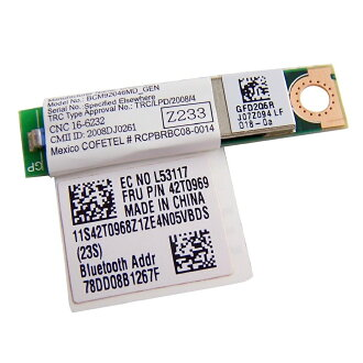 IBM Lenovo Thinkpad Bluetooth daughter card (BDC-2.1) 60Y3199