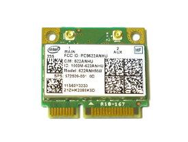 Lenovo/HP純正 60Y3231 572509-001 Intel Centrino Advanced-N 6200 802.11a/b/g/n 300Mbps PCIe Mini half 無線LANカード 622ANHMW