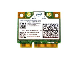 Lenovo/HP純正 60YFFFF 636672-001 Intel Centrino Advanced-N 6230 62230ANHMW 802.11a/b/g/n + Bluetooth 3.0 無線LANカード