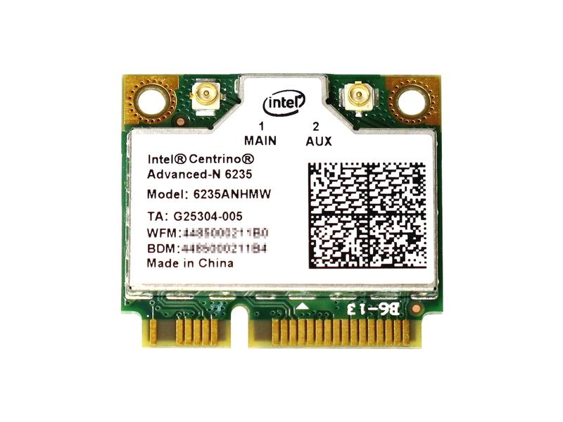 Intel Centrino Advanced-N 6235 Dual Band 802.11a/b/g/n 300Mbps + Bluetooth 4.0 無線 LANカード 6235ANHMW
