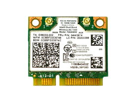 Lenovo純正 04W3814/04X6010/04X6090 Intel Dual Band Wireless-AC 7260 867Mbps 802.11ac + Bluetooth 4.0 無線LANカード 7260HMW for Thinkpad Y410P Y510P E440 E540 S440 S540 Z410 K4350 K4250 ThinkCentre E73z M73z E93z M93 M93p