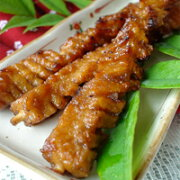 【おからこんにゃくの串焼き】【手作り】【ベジタリアン】5本入り,低カロリー,食物繊維