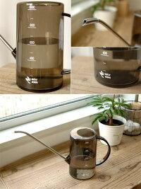 水さし目盛りがついて肥料やりにも使いやすい♪じょうろ同梱可能水差しみずさし水挿しピッチャーおしゃれプラスチック観葉植物