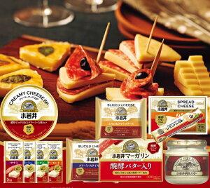 小岩井乳製品バラエティーセット 復興支援 純良バター マーガリン オードブルチーズ 米沢牛入りサラミ アーモンド クリーミー オニオン ぬるチーズ ス ライスチーズ とろけるチーズ 6Pチー