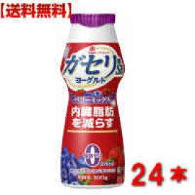 【送料無料】 雪印メグミルク ガセリ菌 SP株 のむヨーグルト100g24本 飲むタイプ ベリーミックス 2ケース ダイエット 内臓脂肪 メタボ対策