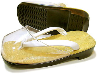 Polyurethane bottom leather-soled Sandals L size light sauce drizzle crawler