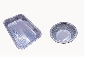 【サイトウ商事】100枚入り 使い捨てアルミ皿、アルミプレート バーベキュープレート 丸型、角型 高耐久食品容器 冷凍庫&オーブン対応