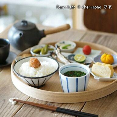 白木塗 茶盆 33cm タモ材【送料無料】insta