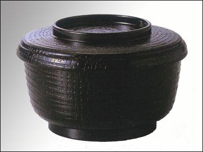 ケヤキ飯器(小) 黒G